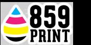 859 PRINT – FULL SERVICE – TOP QUALITY Logo